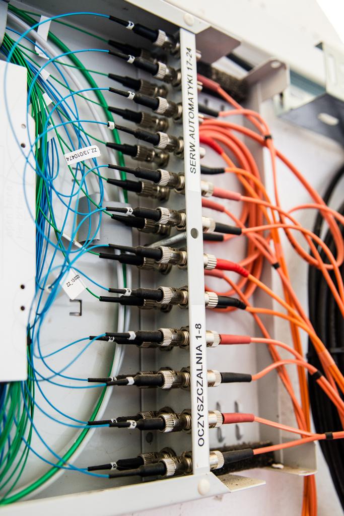Modernizacja układów elektrycznych i automatyki ZP Strzelin