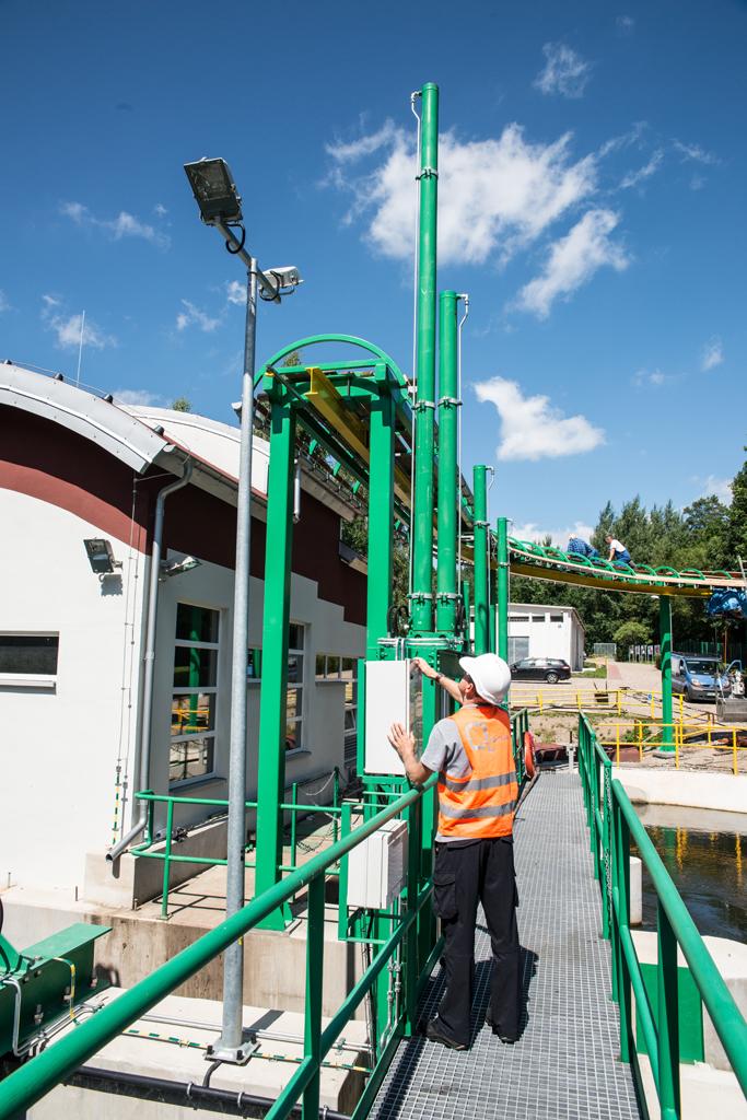 Kompleksowa przebudowa układów elektroenergetycznych, sterowania, automatyki i instalacji EW Rościno